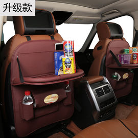 Multifunctional Back Seat Tool Organizer , PU Leather Hanging Car Organizer 67 * 43cm